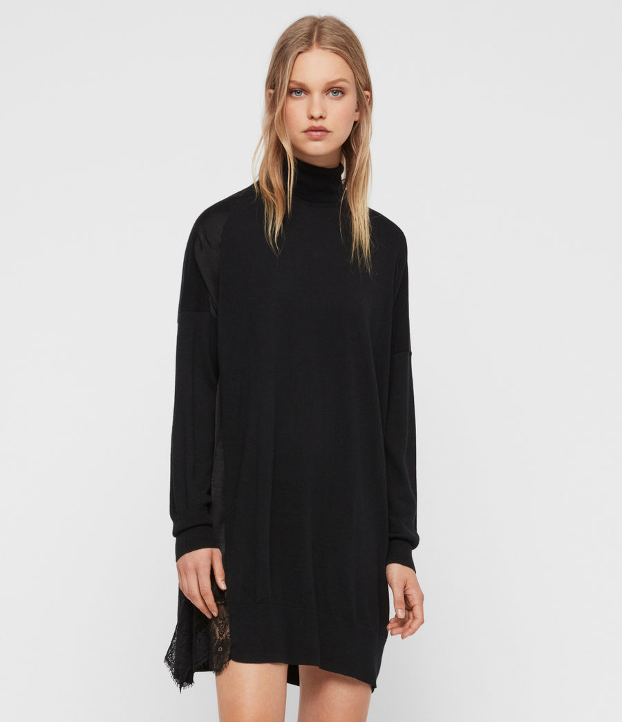 Women's Paola Dress (black) - Image 4