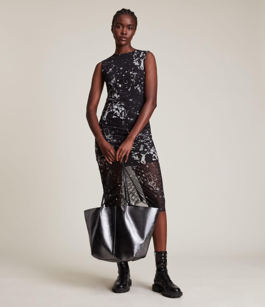 Women's Nora Portland Dress (black) - Image 1