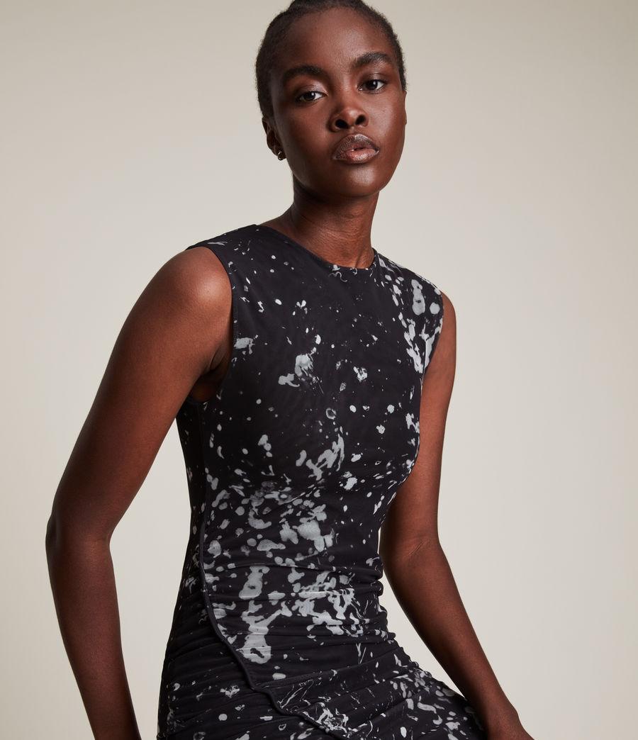 Women's Nora Portland Dress (black) - Image 2
