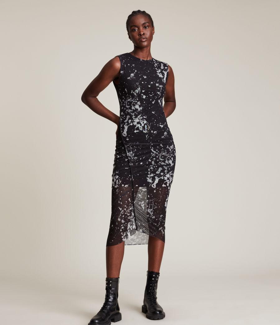 Women's Nora Portland Dress (black) - Image 3