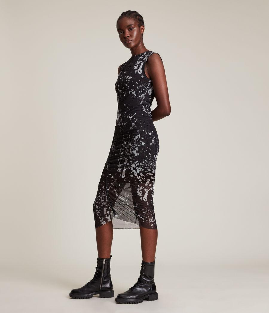 Women's Nora Portland Dress (black) - Image 4