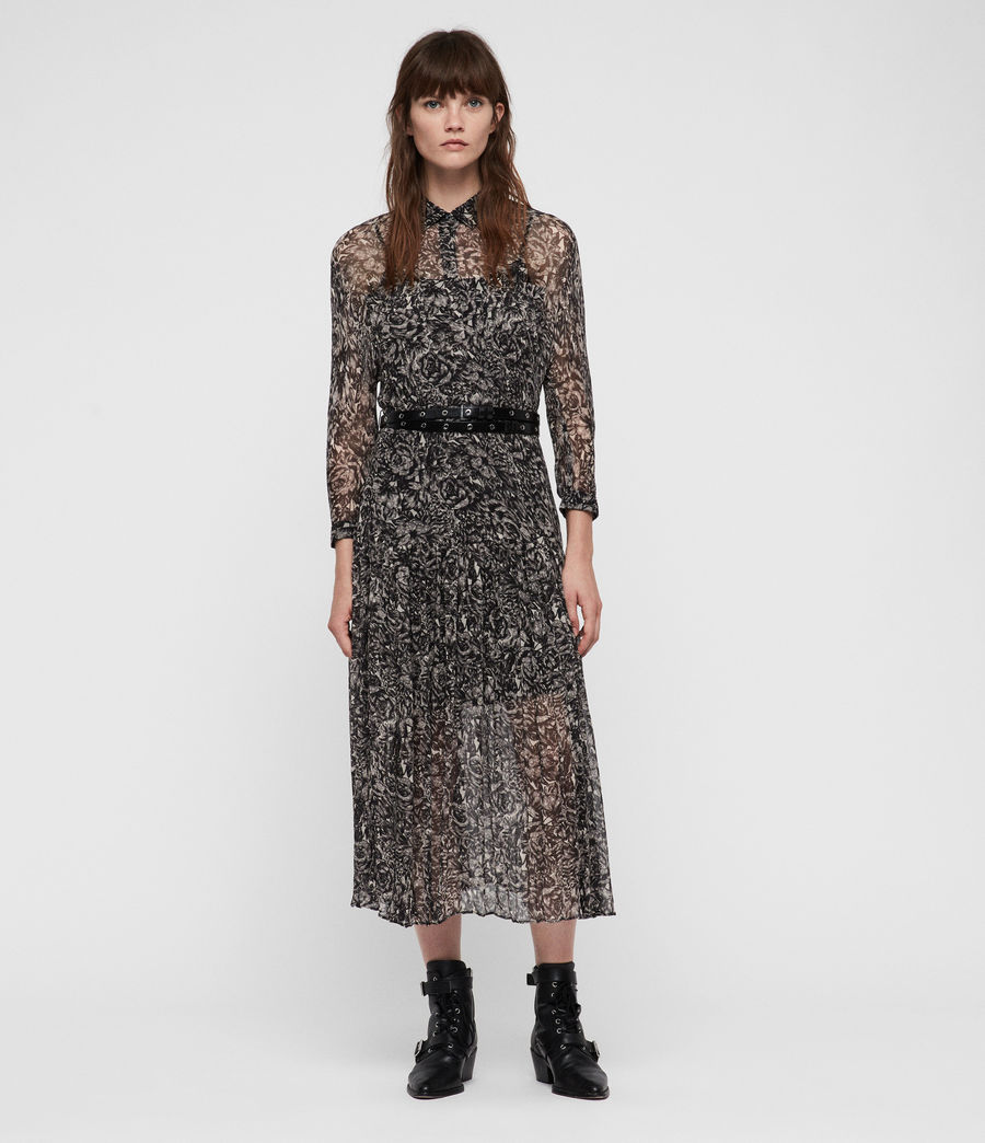 Women's Eley Rosey Dress (off_white) - Image 1