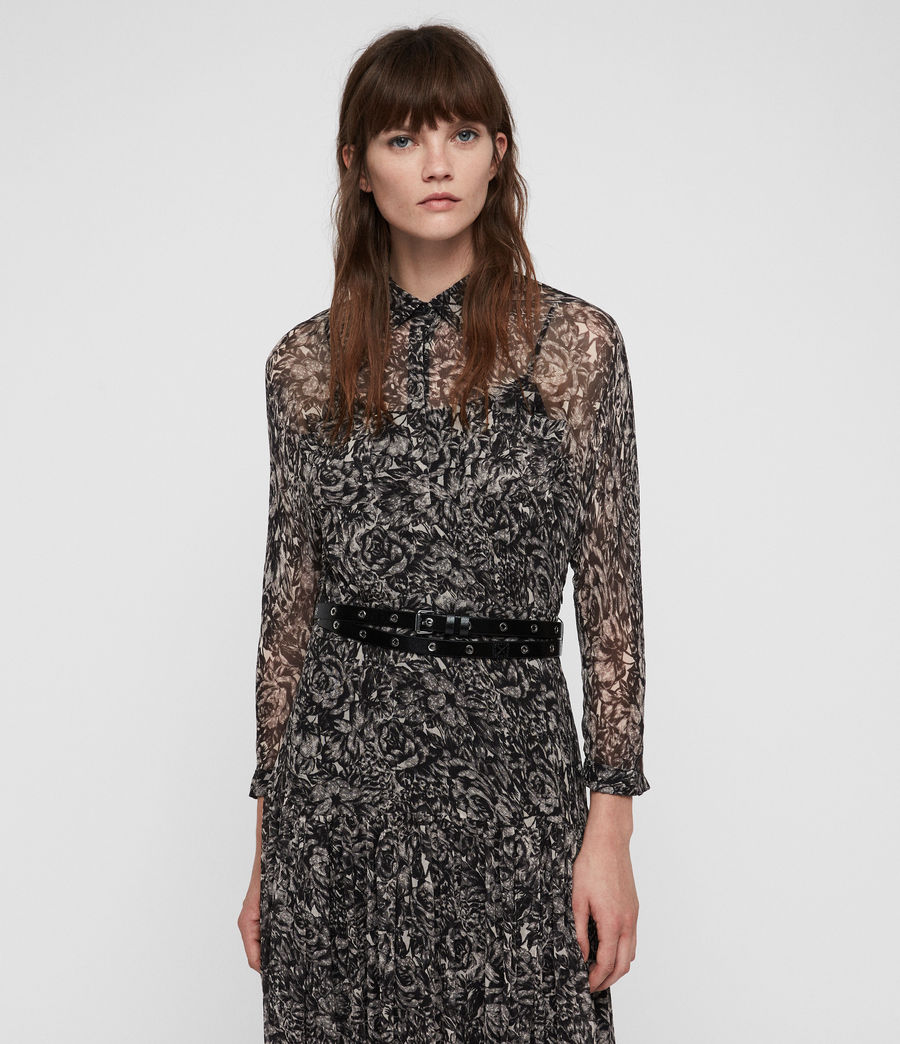 Womens Eley Rosey Dress (off_white) - Image 3