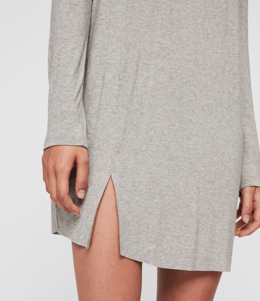 Womens Esther Dress (smoke_grey_marl) - Image 5