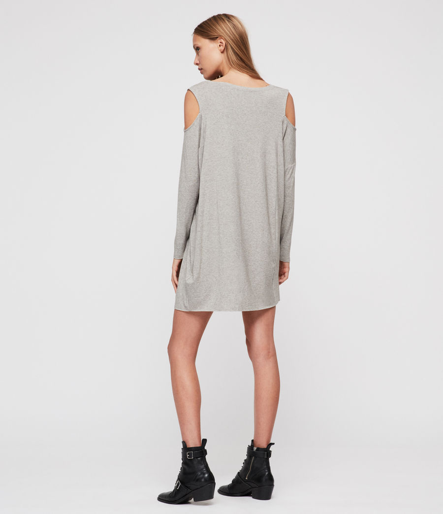 Womens Esther Dress (smoke_grey_marl) - Image 6