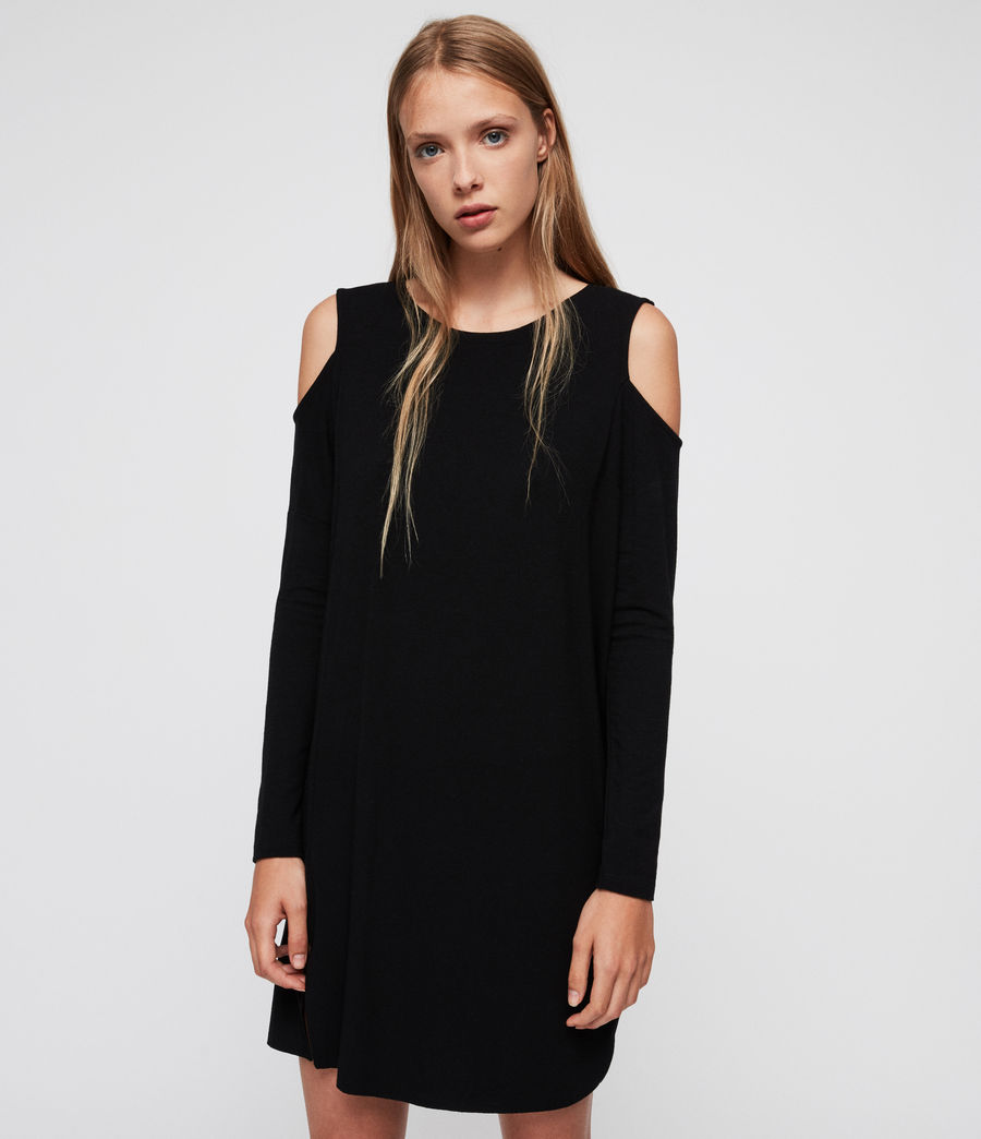 Femmes Robe Esther (black) - Image 4