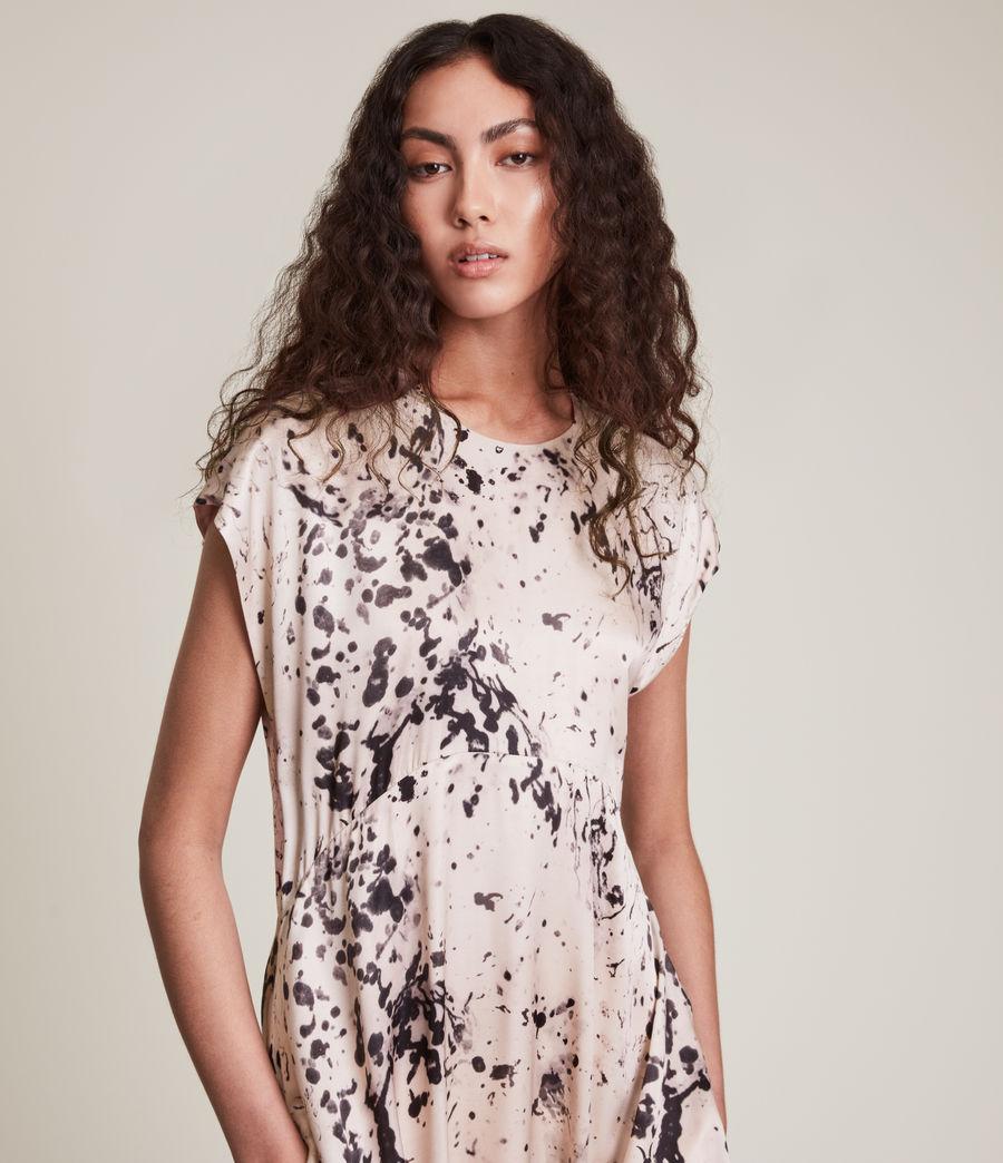 Women's Gianna Portland Silk Blend Dress (pink) - Image 2