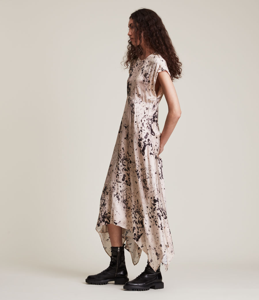 Women's Gianna Portland Silk Blend Dress (pink) - Image 3