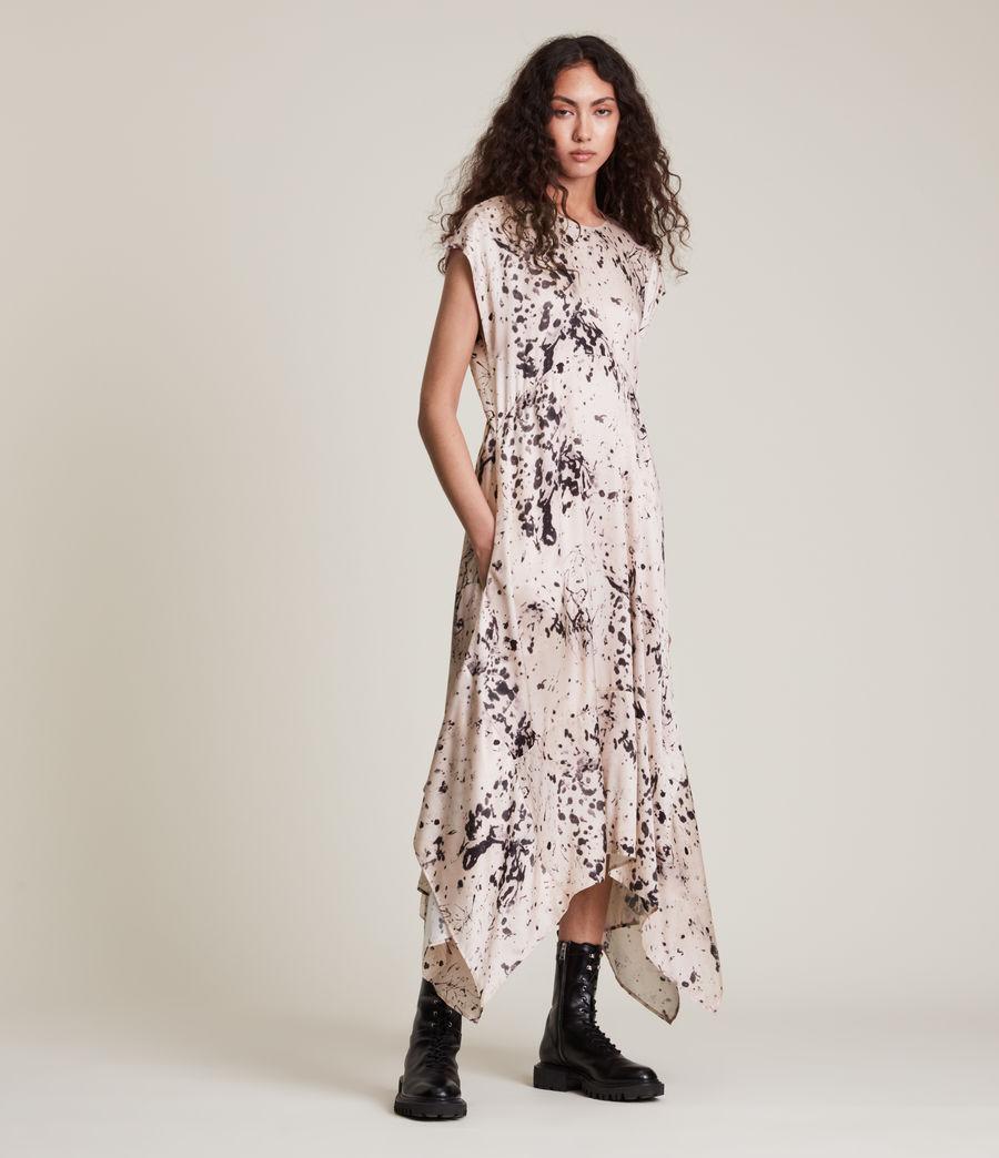 Women's Gianna Portland Silk Blend Dress (pink) - Image 4