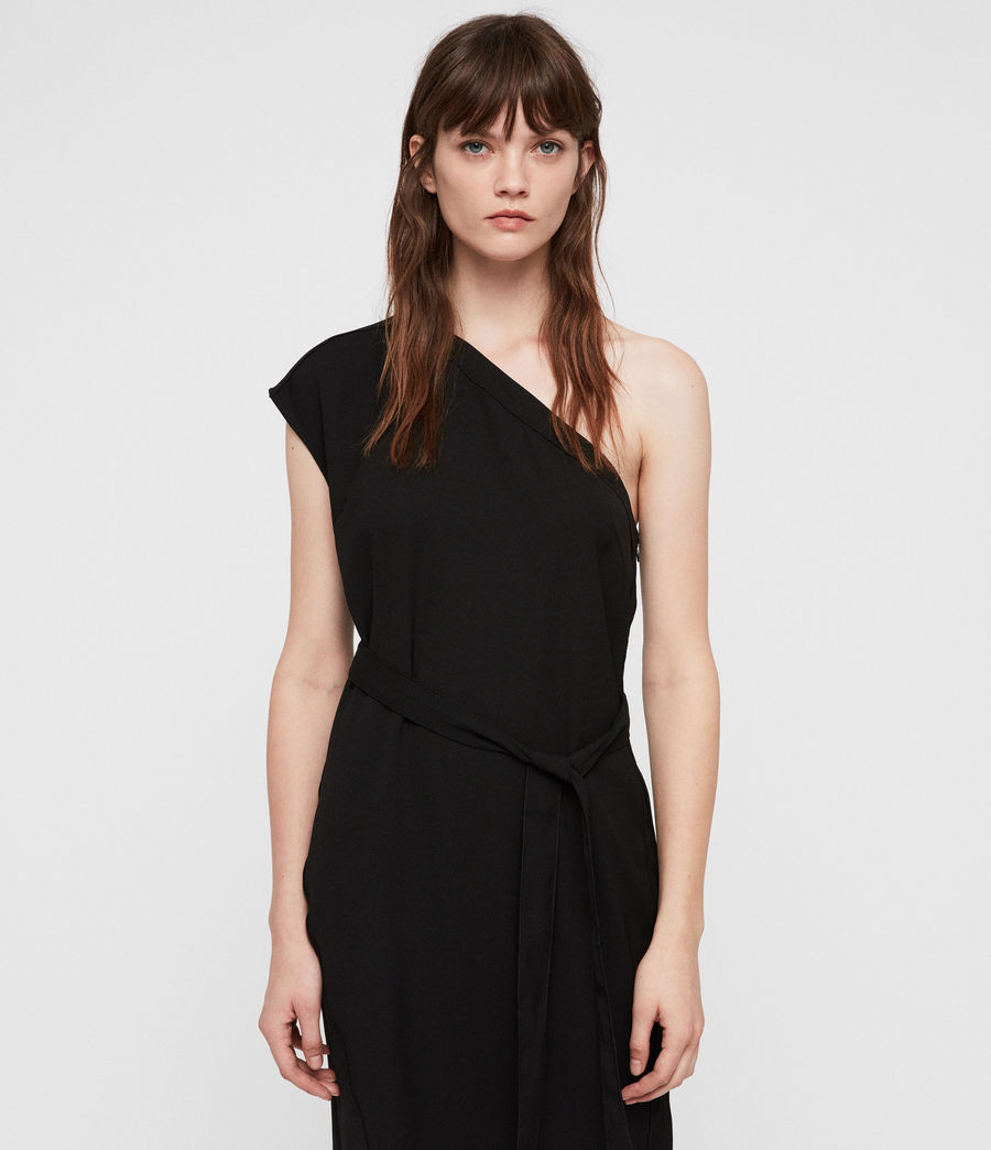 Womens Luana Dress (black) - Image 1
