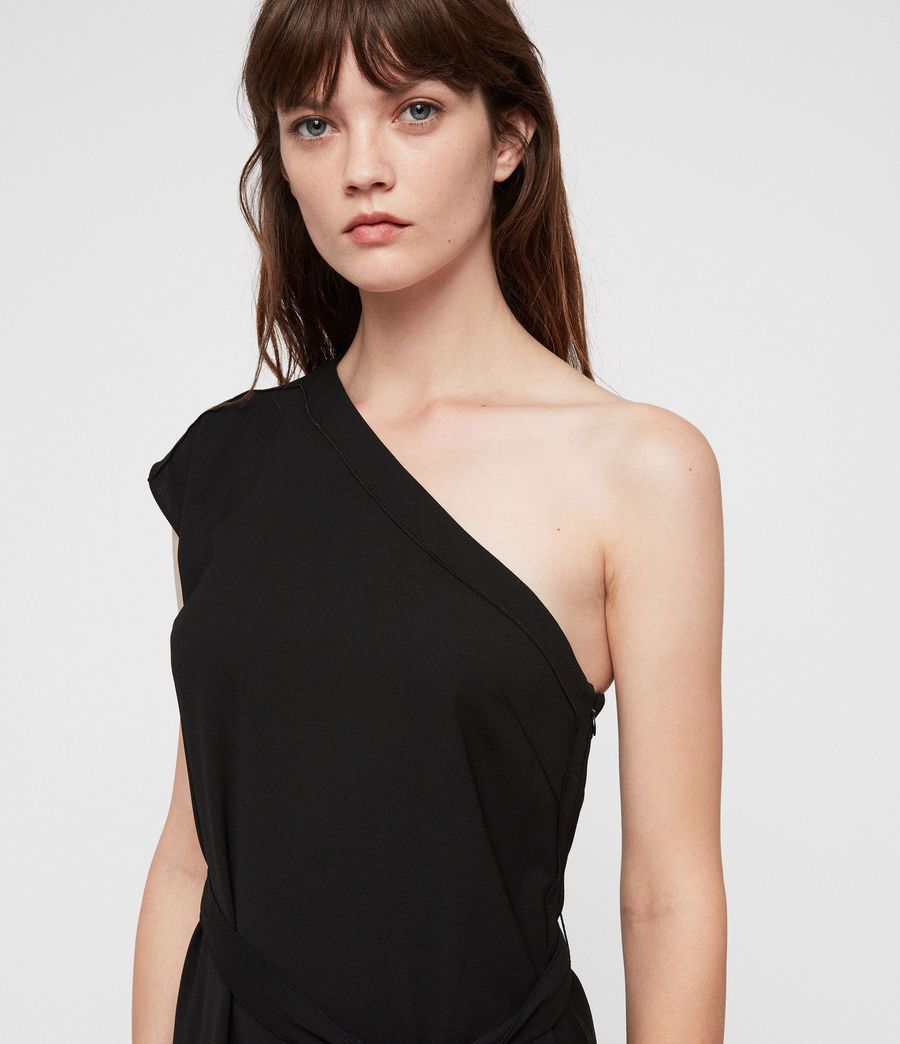 Women's Luana Dress (black) - Image 2