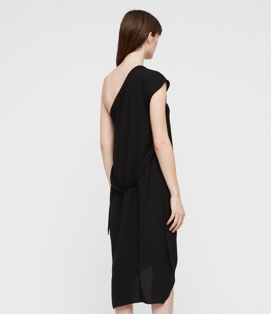 Women's Luana Dress (black) - Image 5