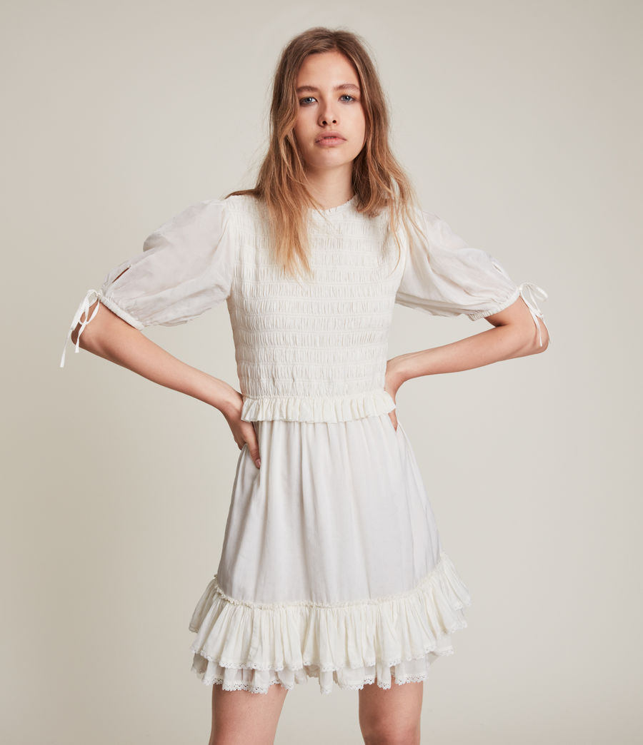 Women's Jaya Dress (chalk_white) - Image 1