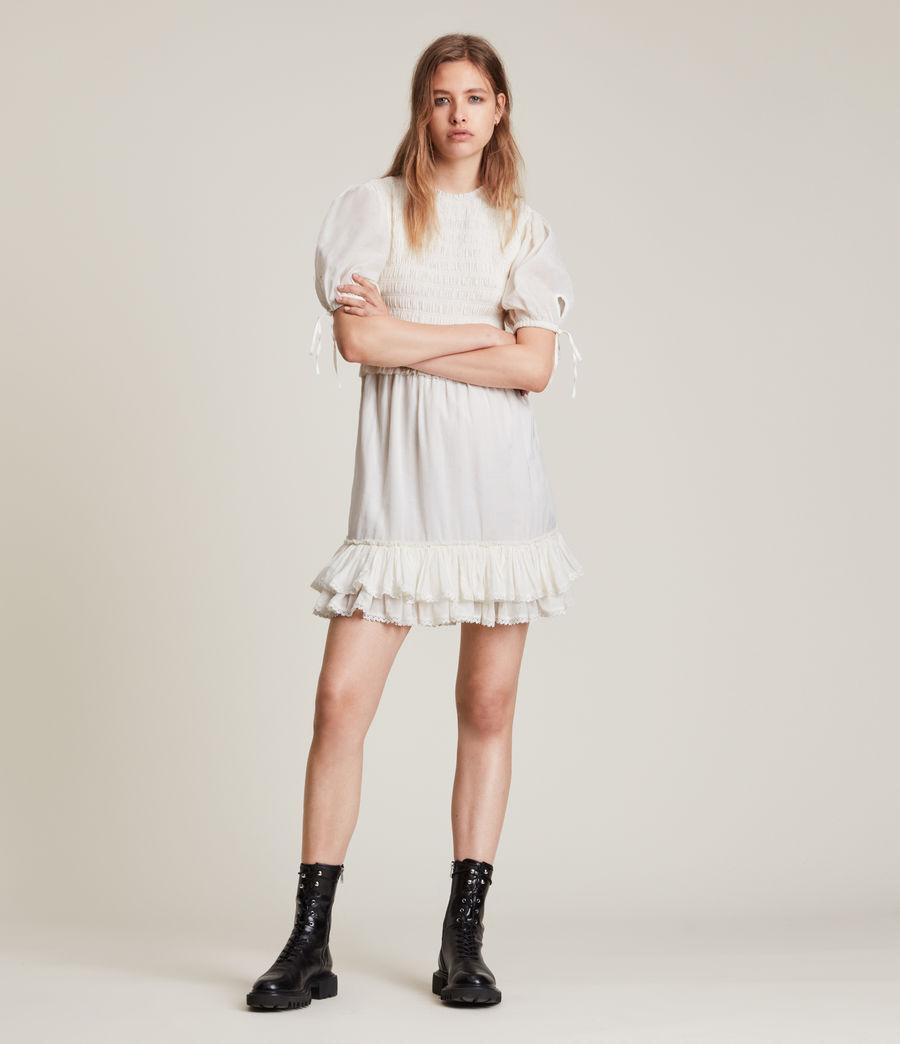 Women's Jaya Dress (chalk_white) - Image 3