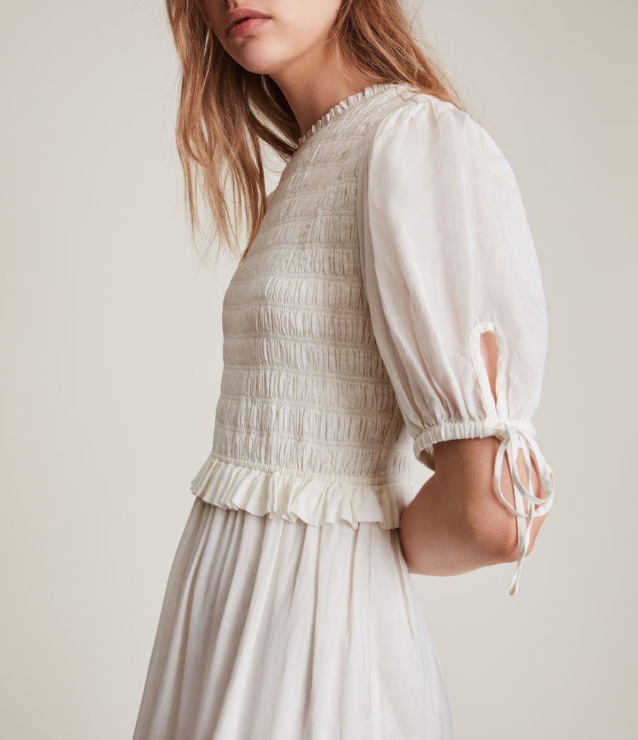Women's Jaya Dress (chalk_white) - Image 4