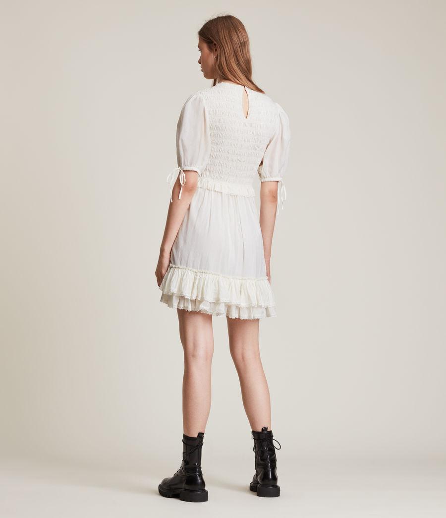 Women's Jaya Dress (chalk_white) - Image 5