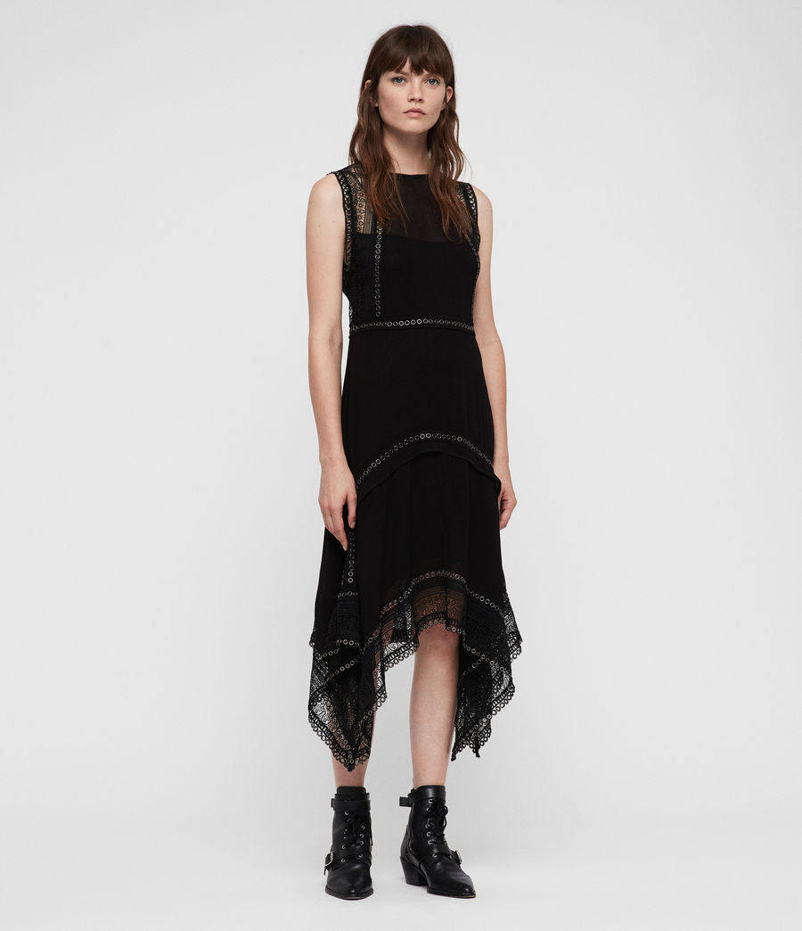 Women's Alicia Dress (black) - Image 1