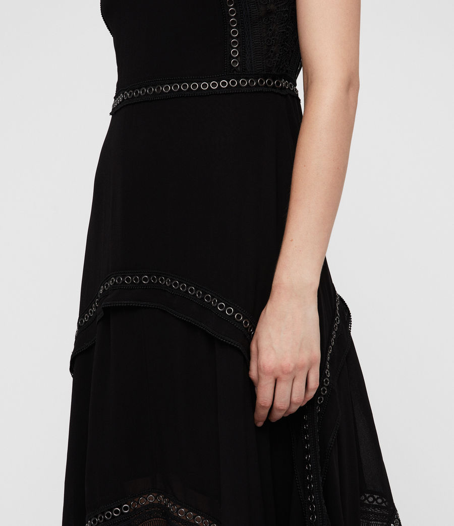 Women's Alicia Dress (black) - Image 5