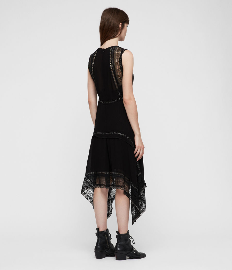 Women's Alicia Dress (black) - Image 7