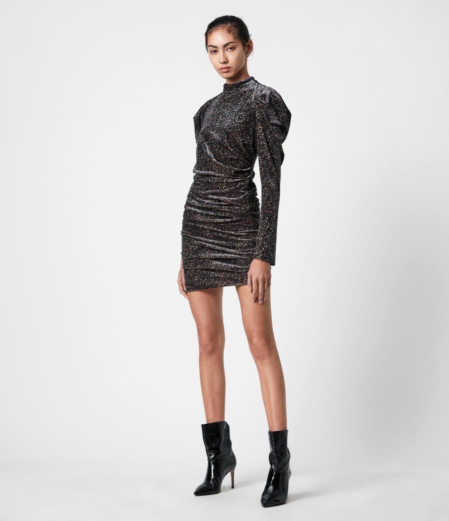 Women's Daphne Lee Dress (umber_brown) - Image 1