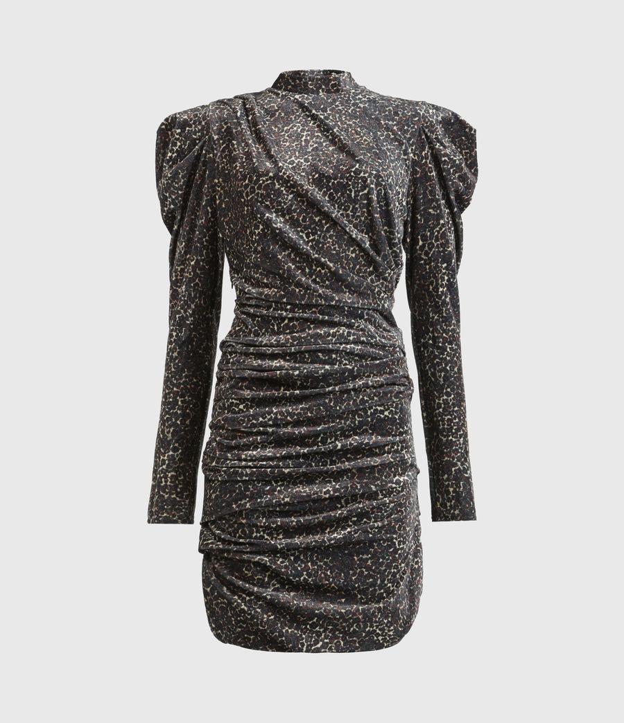 Women's Daphne Lee Dress (umber_brown) - Image 2