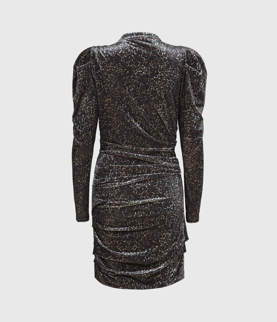 Women's Daphne Lee Dress (umber_brown) - Image 3