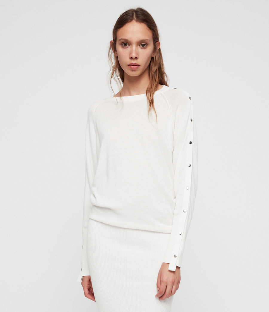 Women's Suzie Dress (ivory_white) - Image 1