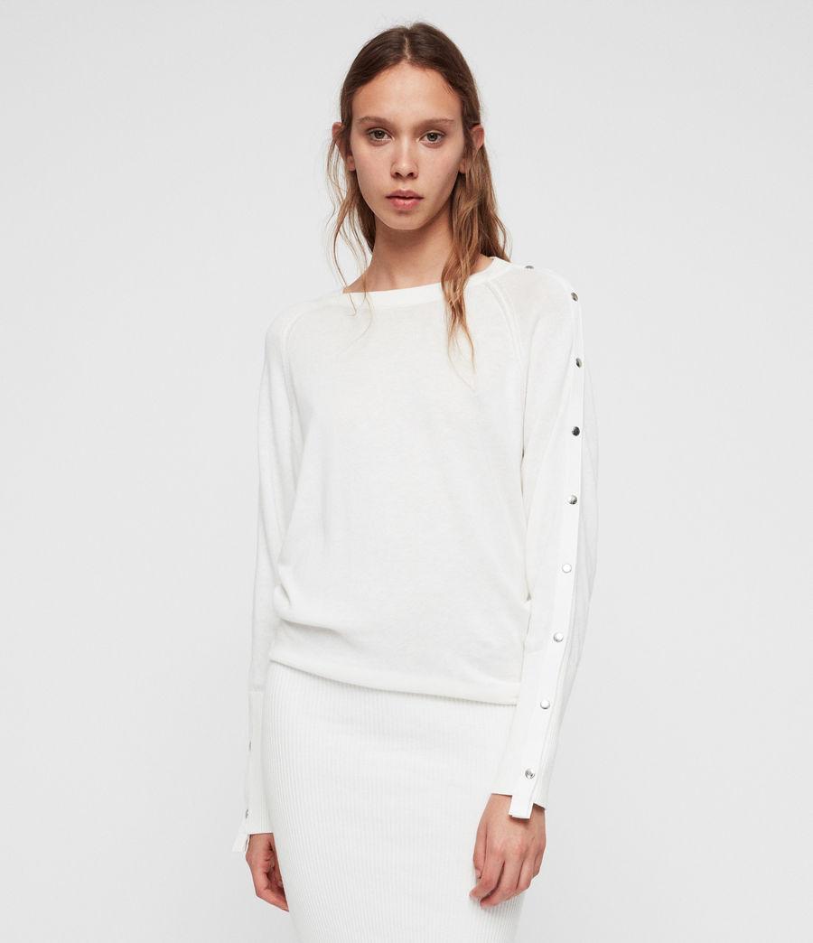 Donne Suzie Dress (ivory_white) - Image 1