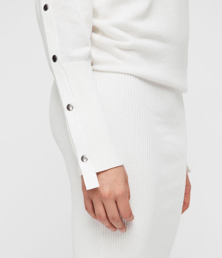Donne Suzie Dress (ivory_white) - Image 4