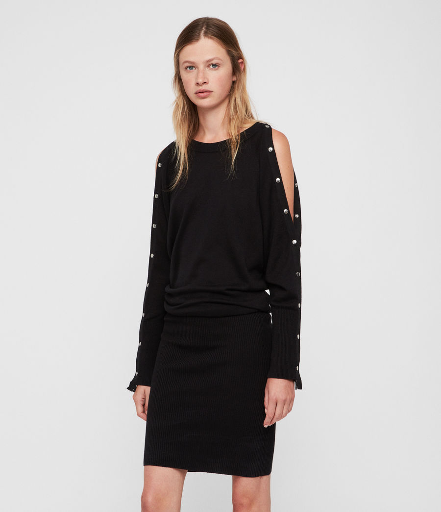 Women's Suzie Dress (black) - Image 1