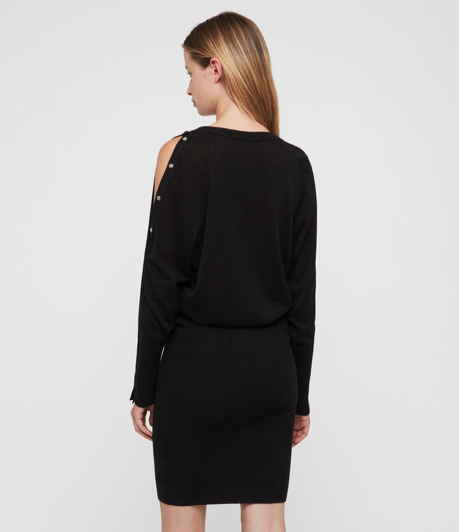 Women's Suzie Dress (black) - Image 4
