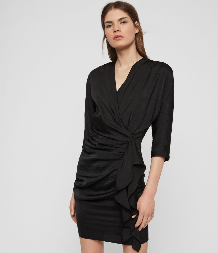 Womens Issey Dress (black) - Image 1