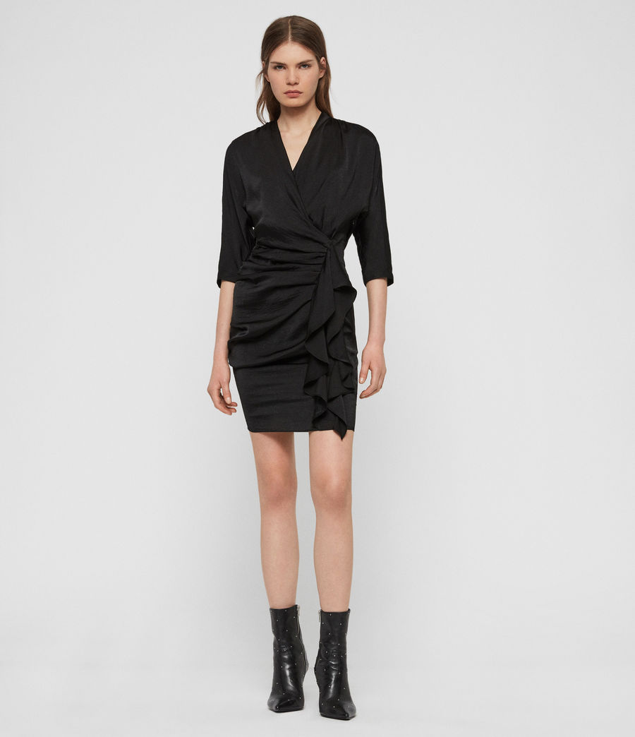 Women's Issey Dress (black) - Image 2