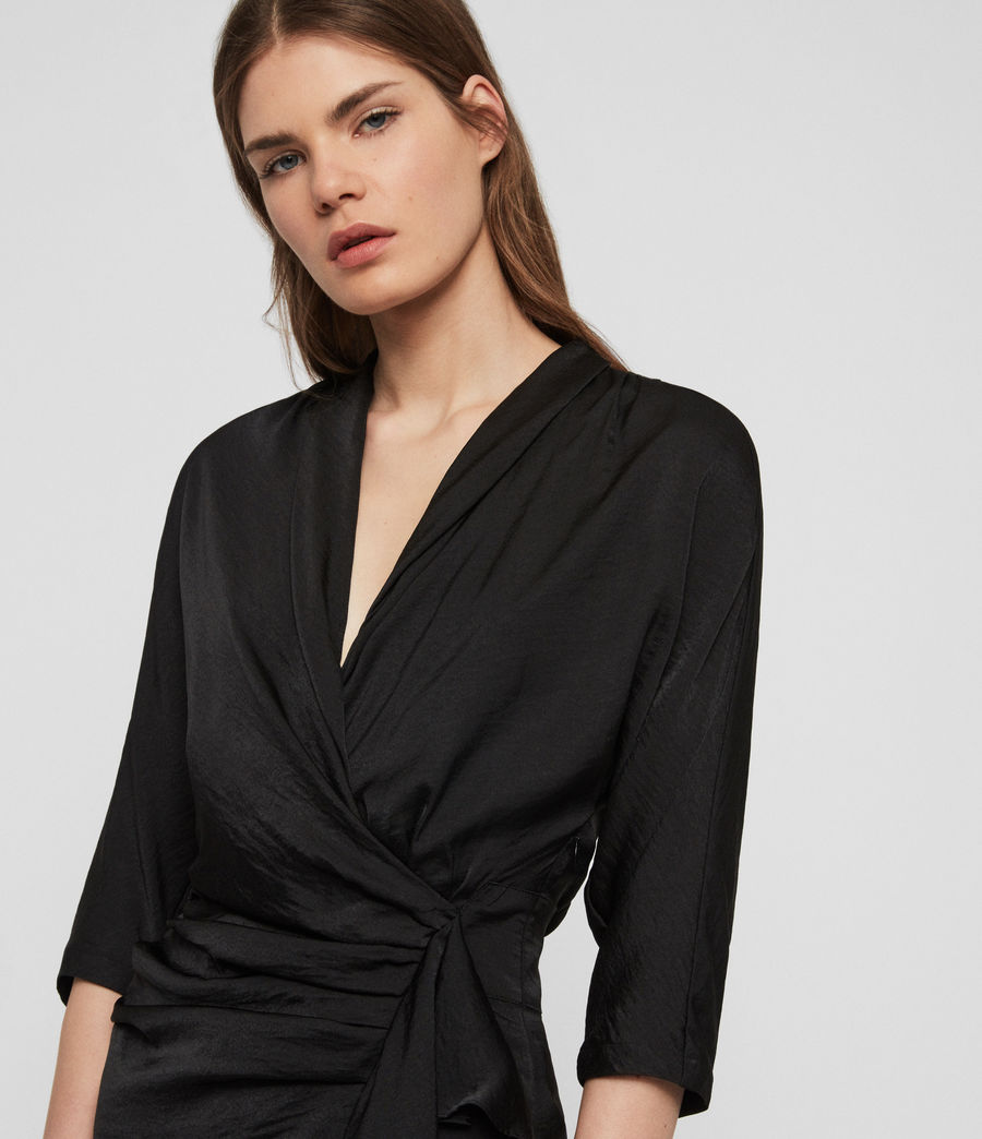 Women's Issey Dress (black) - Image 4