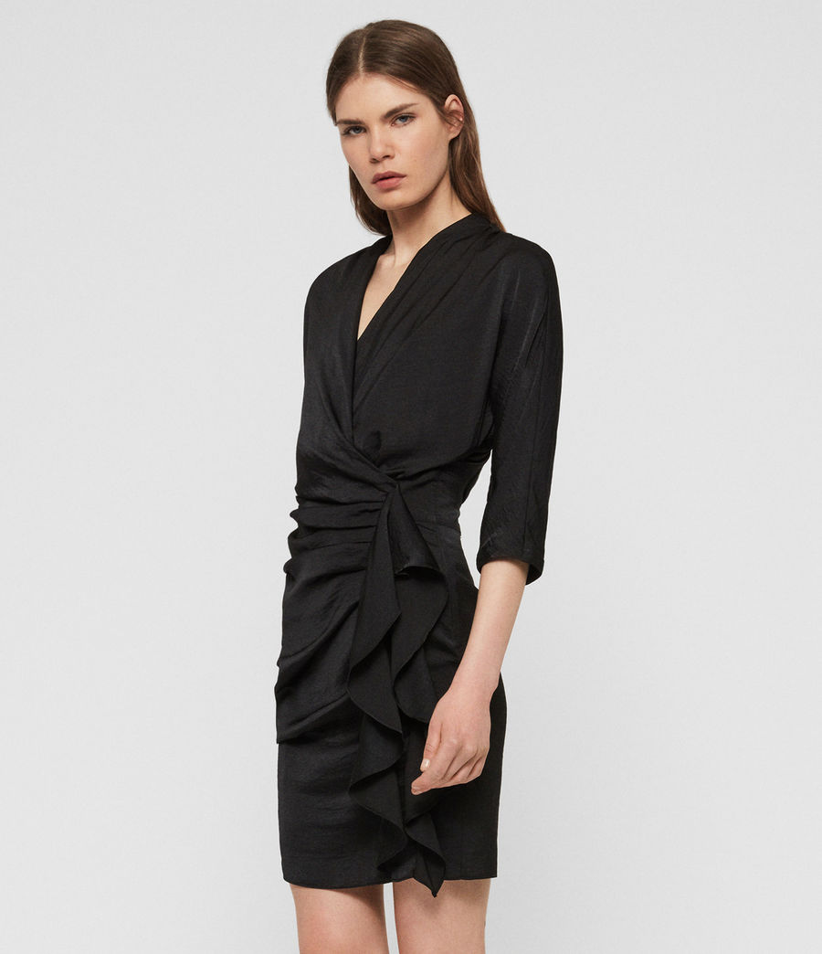 Women's Issey Dress (black) - Image 6
