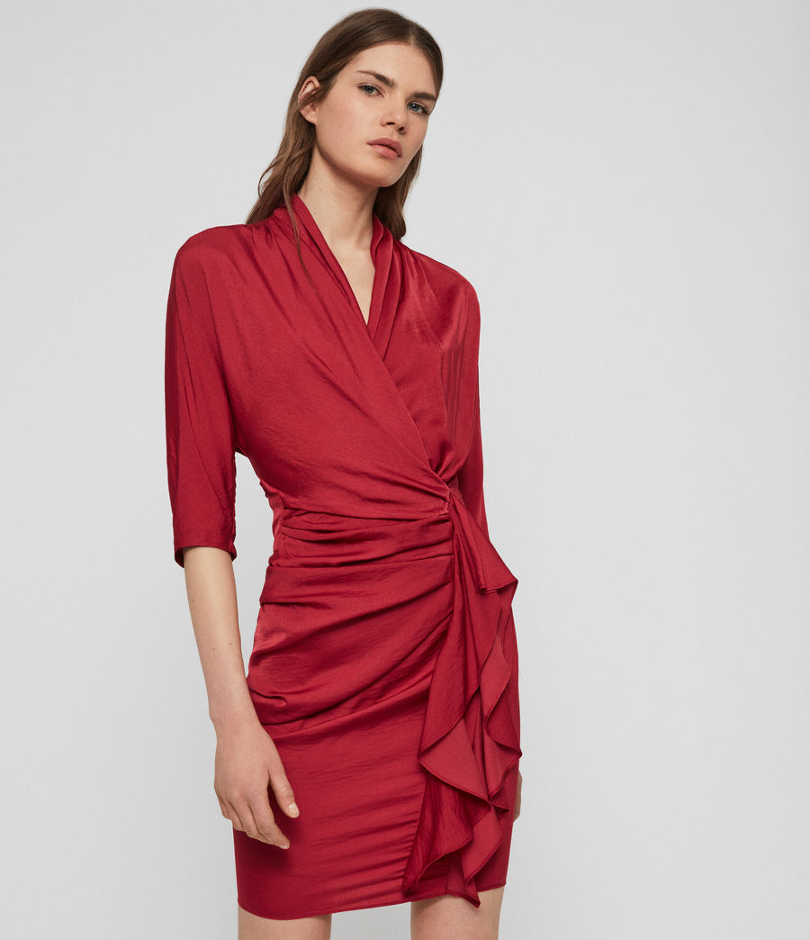 Womens Issey Dress (raspberry_pink) - Image 1