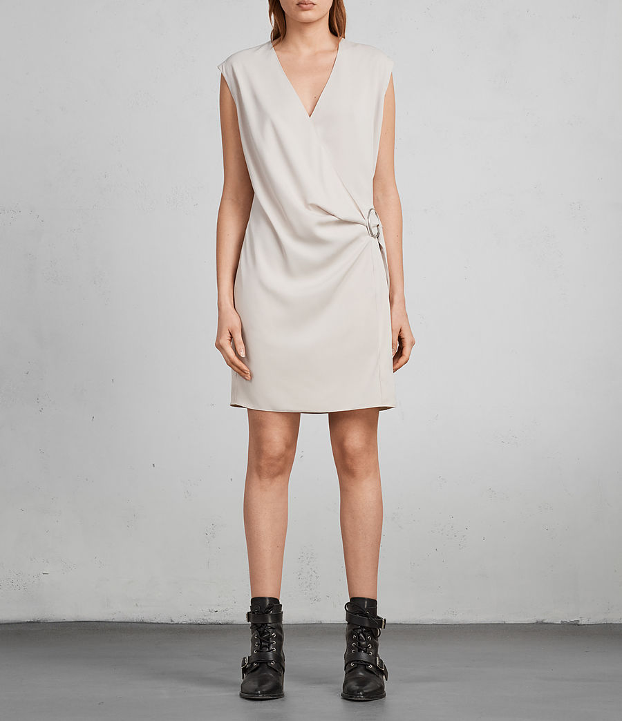 Womens Callie Dress (Pale Pink) - Image 3