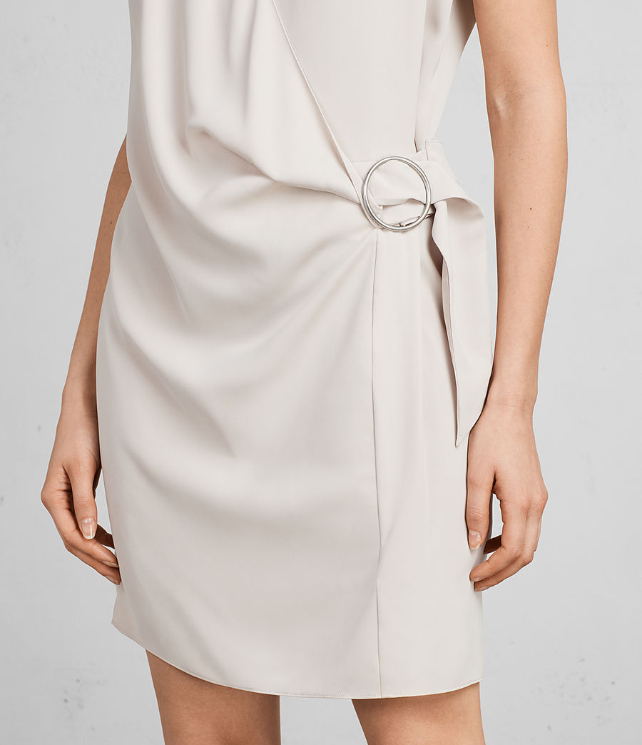 Womens Callie Dress (Pale Pink) - Image 4