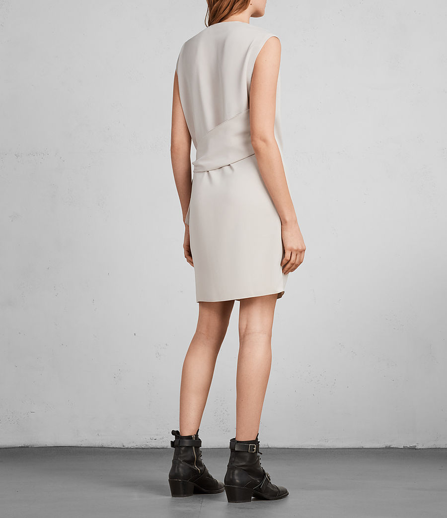 Womens Callie Dress (Pale Pink) - Image 6