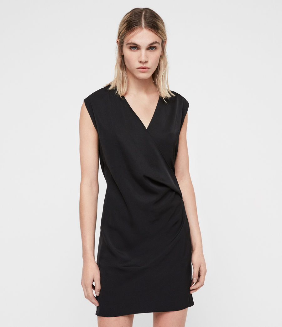 Womens Callie Dress (black) - Image 1