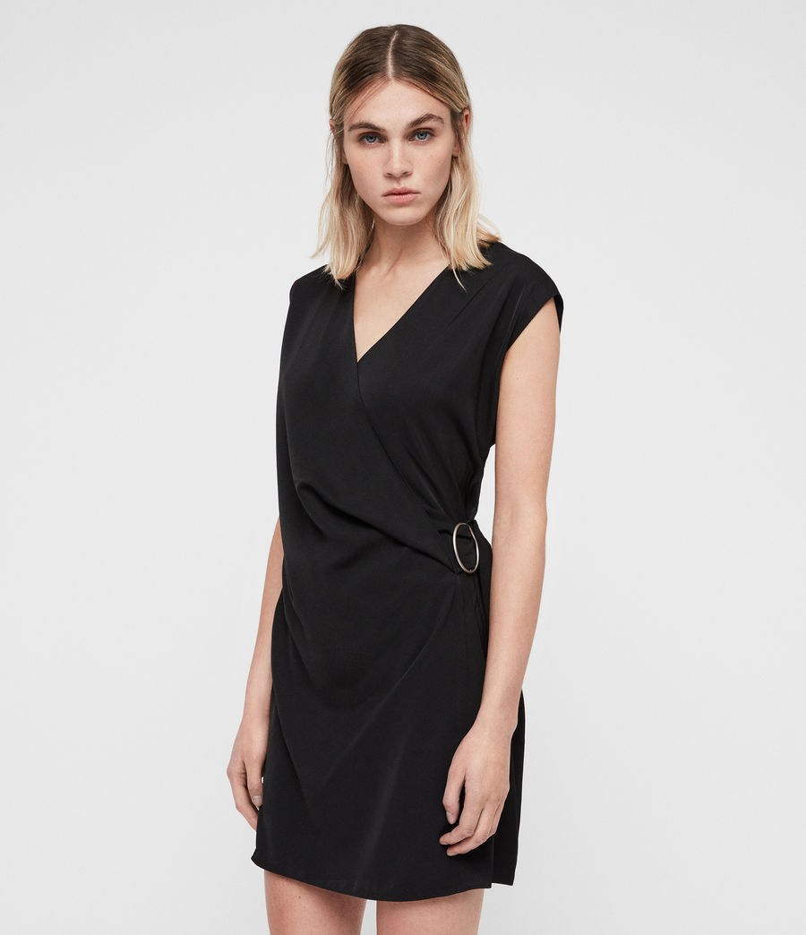 Womens Callie Dress (black) - Image 2