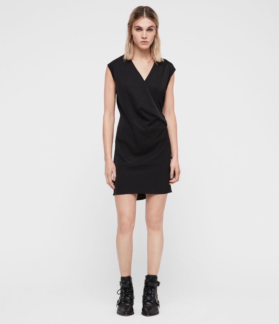 Womens Callie Dress (black) - Image 3