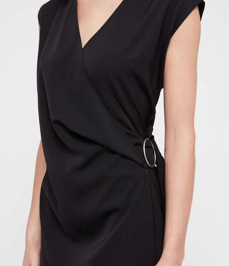 Womens Callie Dress (black) - Image 4