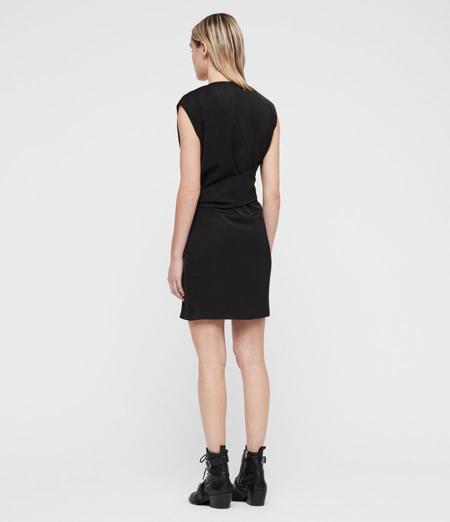 Womens Callie Dress (black) - Image 5
