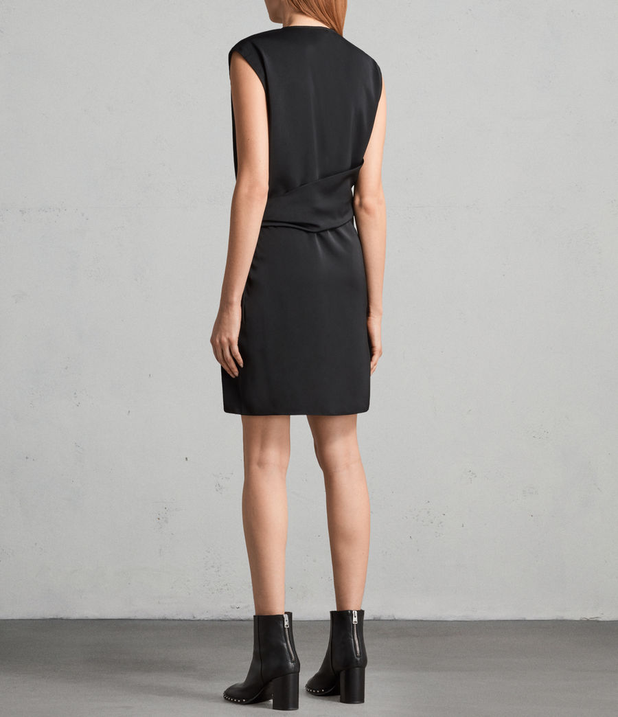 Womens Callie Dress (black) - Image 6