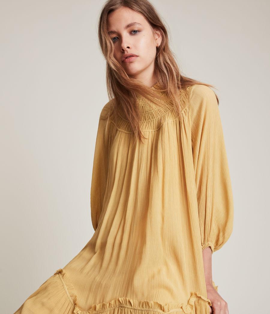 Womens Arila Dress (sunset_yellow) - Image 1