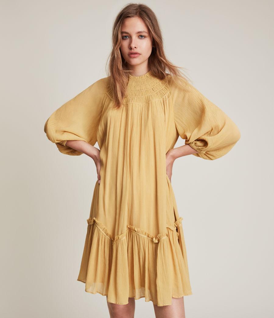 Womens Arila Dress (sunset_yellow) - Image 2