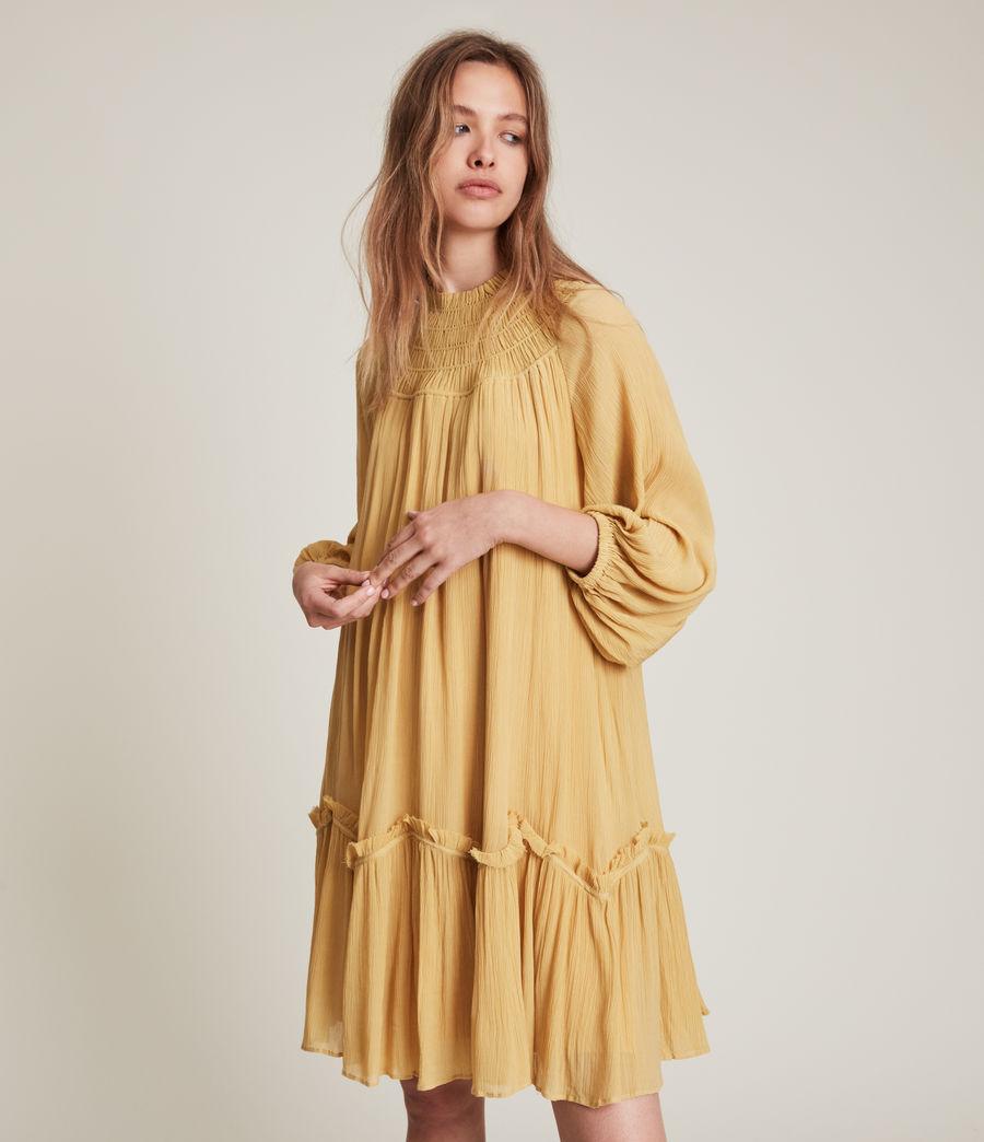 Womens Arila Dress (sunset_yellow) - Image 3