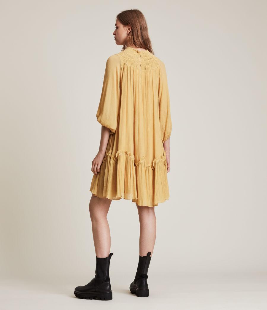 Womens Arila Dress (sunset_yellow) - Image 5