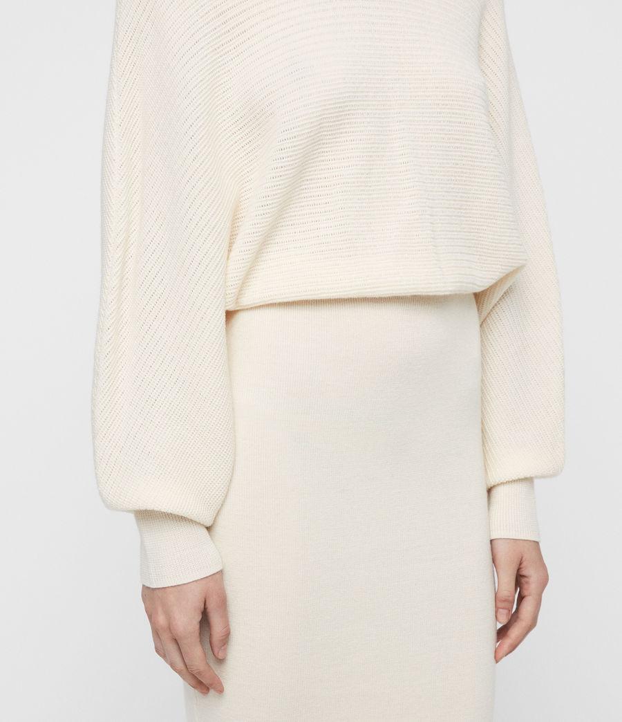 Mujer Gene Dress (chalk_white) - Image 2